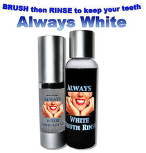 Load image into Gallery viewer, ALWAYS WHITE- Mouth Rinse & Toothpaste Gel - Always White