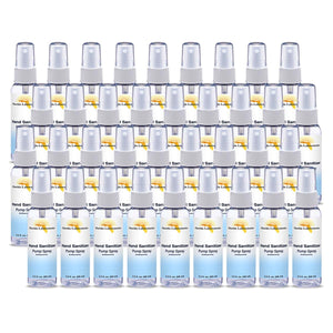 Hand Sanitizer Liquid (Non-Gel) - (36) 2.3 oz Spray Bottle - Isopropyl-Alcohol.Com