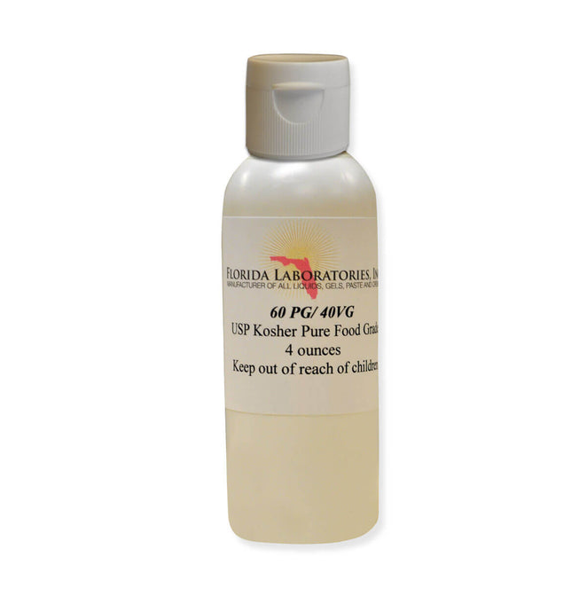 Propylene Glycol & Vegetable Glycerin 60/40 Blend, Food Grade, 60% PG 40% VG - Multiple Sizes Available - Isopropyl-Alcohol.Com