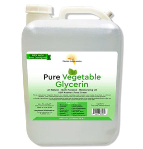 Vegetable Glycerin, 100% Food Grade Safe, USP, Kosher, VG - Always White
