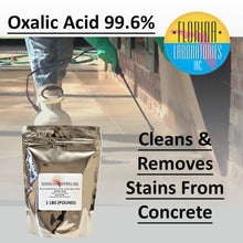 Load image into Gallery viewer, OXALIC ACID 99.6% Pure, Rust Remover, Wood Bleach, Boat Cleaner and More - Multiple Sizes Available - Always White