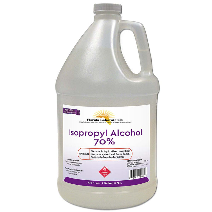 Isopropyl Alcohol 70% - 1 Gallon - Isopropyl-Alcohol.Com