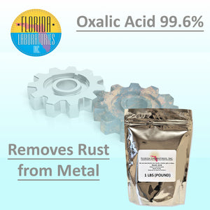 OXALIC ACID 99.6% Pure, Rust Remover, Wood Bleach, Boat Cleaner and More - Multiple Sizes Available - Isopropyl-Alcohol.Com