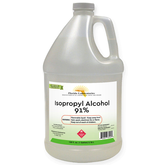 Isopropyl Alcohol 91% - 1 Gallon - Isopropyl-Alcohol.Com