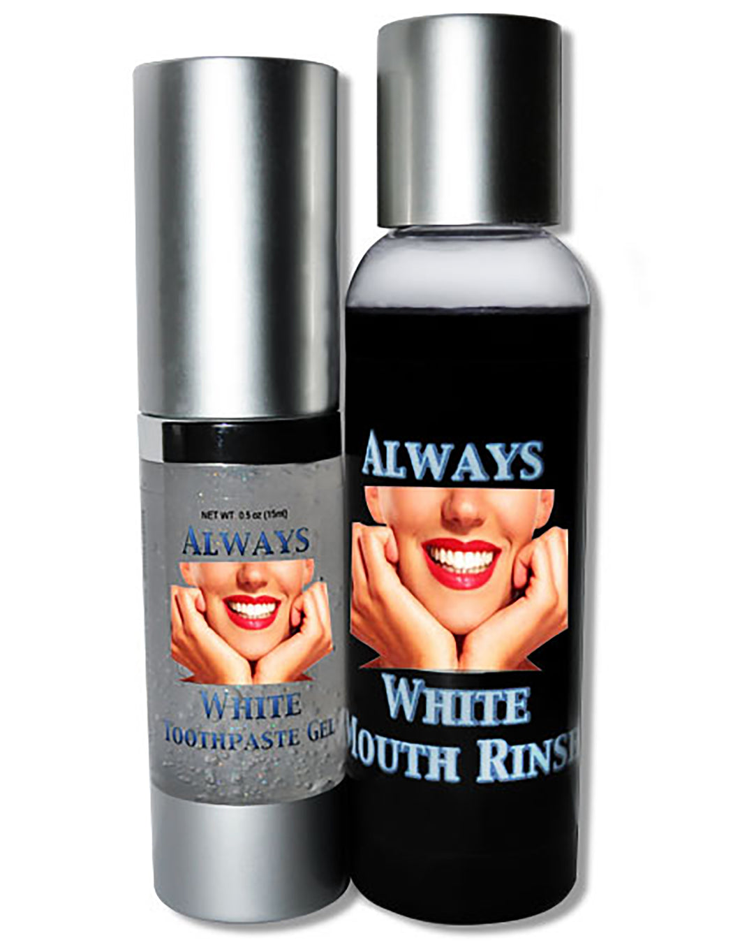 ALWAYS WHITE- Mouth Rinse & Toothpaste Gel - Isopropyl-Alcohol.Com