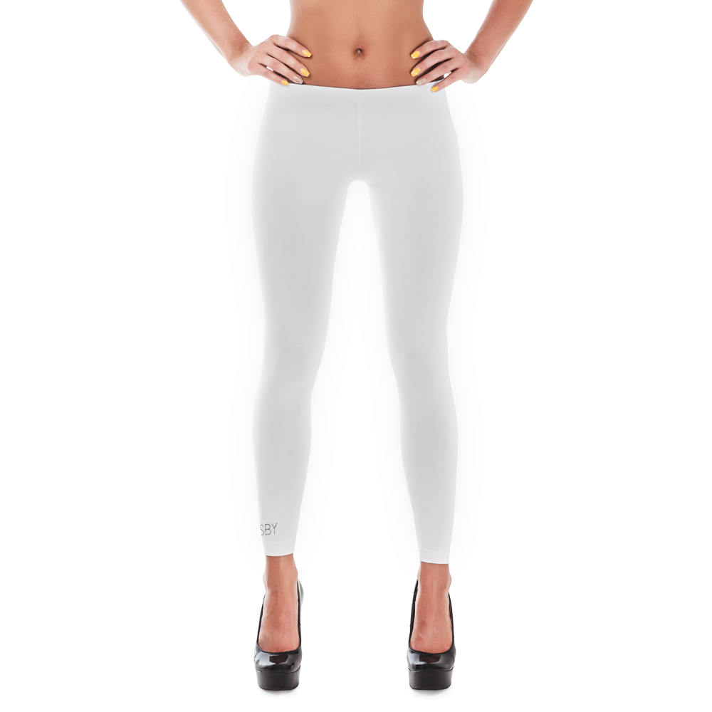 ROSBY BASIC LEGGINGS#WHT - Rosbyapparel