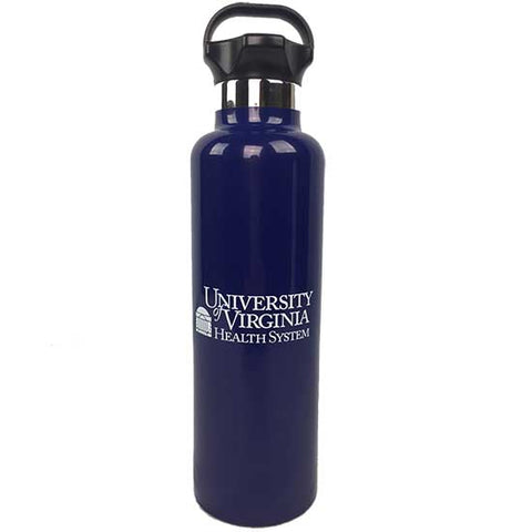 UVA Health System 25 Oz. H20 Ascent Stainless Steel Thermal Bottle - Navy