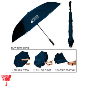 Inverted Umbrella Navy
