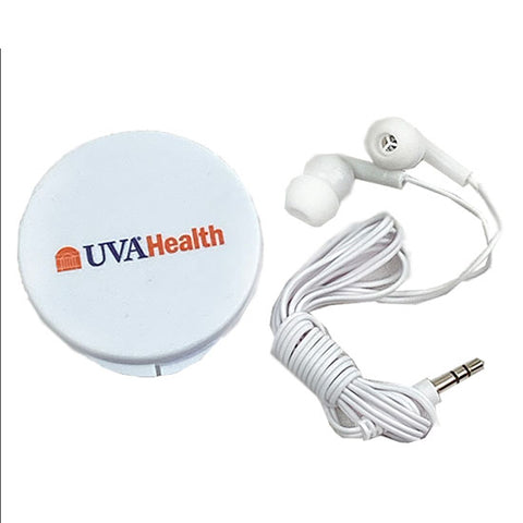 UVA Health System Ear Buds in Case