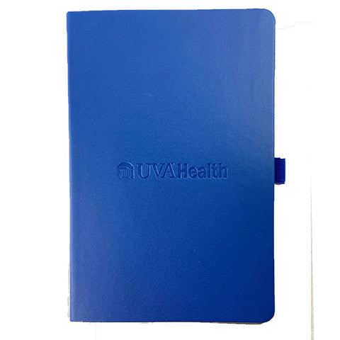 UVA Health System Neoskin® Hard Cover Journal - Navy