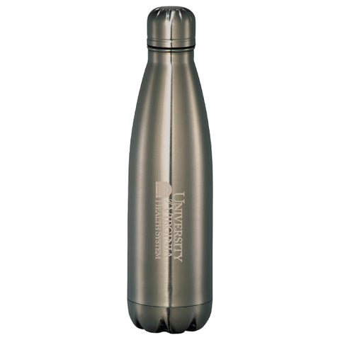 UVA Health System 26 Oz. Mega Copper Vacuum Insulated Bottle - Titanium