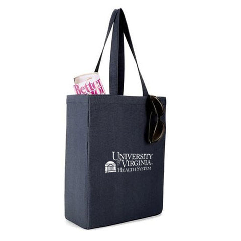 UVA Health System All Purpose Navy Canvas Tote