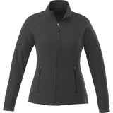 UVA Health System Poly Fleece Full Zip Jacket - Womens - Grey Front