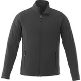 UVA Health System Poly Fleece Full Zip Jacket - Mens - Grey Front