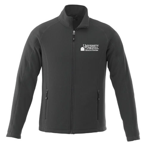 Poly Fleece Full Zip Jacket Mens & Womens - Grey