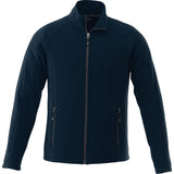 UVA Health System Poly Fleece Full Zip Jacket Mens - Navy - Front View