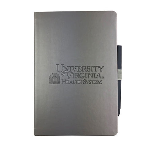 UVA Health System Vienna Large Hard Bound JournalBook™ - Silver