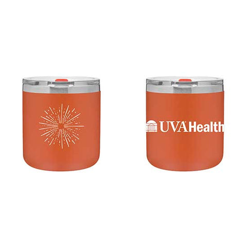 UVA Health System 12 Oz. Double Wall Tumbler - Orange
