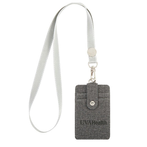 UVA Health System RFID Card Holder With Lanyard