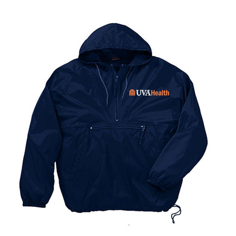 UVA Health System Quarter-Zip Packable Jacket
