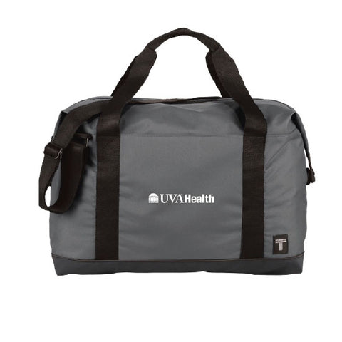 "University of Virginia Health System Tranzip 17"" Day Duffel Bag - Grey"
