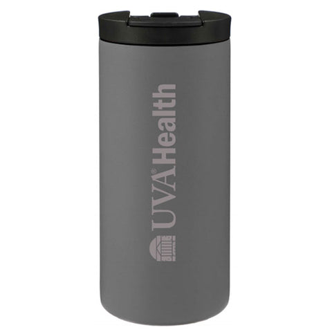 UVA Health System 14 Oz. Aspen Leak Proof Copper Vac Tumbler - Gray