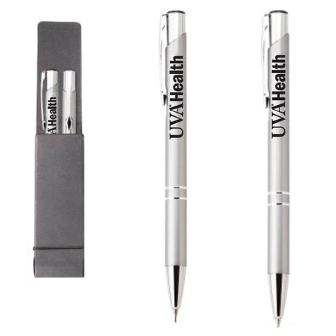 UVA Health System Ali BallPoint Pen and Mechanical Pencil Set