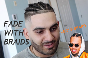 The Fade with Braids on STRAIGHT HAIR + UNOFFICIAL Loft Tour