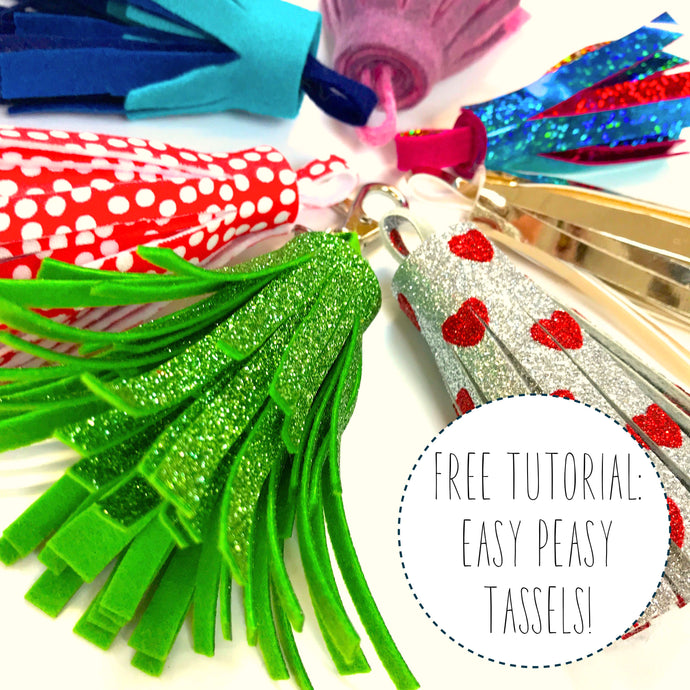 Free Tutorial: Totally Awesome Tassels!