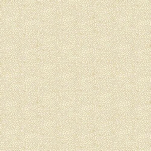 Fabric Felt Sheet - Metallic Dotty - Cream