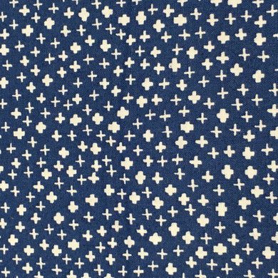 Fabric Felt - Mini Crosses - Navy