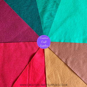 Creative Wool Blend Felt - Colour Collection - Christmas
