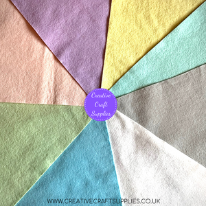 Creative Wool Blend Felt - Colour Collection - Pastels