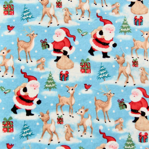 Fabric Felt - Christmas - Deer Santa