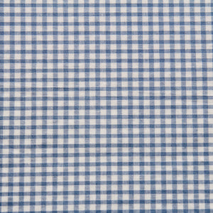 Light Blue Gingham Fabric Felt