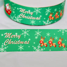 Load image into Gallery viewer, 38mm Christmas Ribbon