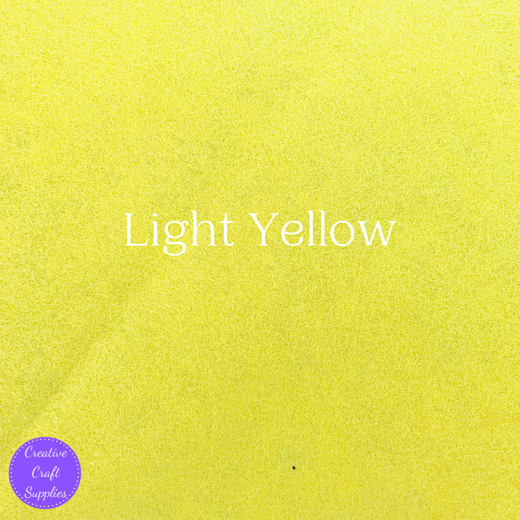 Creative Felt - Light Yellow