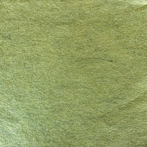 Wool Blend Heathered Felt - Moss