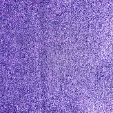 Wool Blend Heathered Felt - Purple