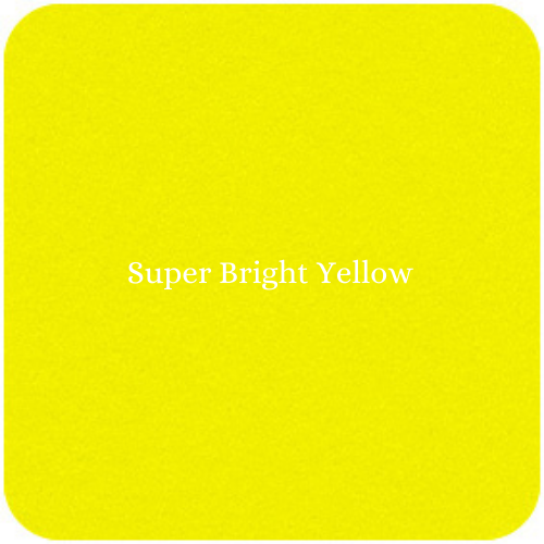 Fybafelt Acrylic Adhesive Felt - Super Bright Yellow