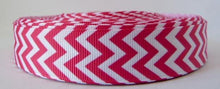 Load image into Gallery viewer, 22mm wide Chevron Ribbon
