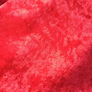 Velvet Fabric Felt Sheet - Red
