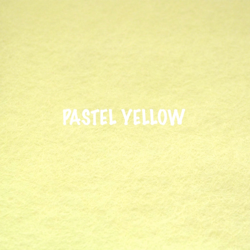 Creative Felt - Pastel Yellow