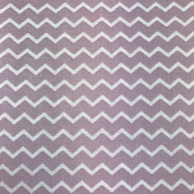 Fabric Felt - Chevron - Lilac