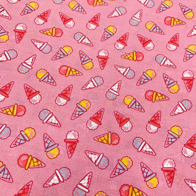 Fabric Felt Sheet - Ice Cream