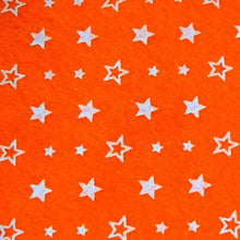 Load image into Gallery viewer, Star Patterned Acrylic Felt Sheet