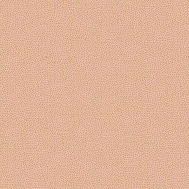 Fabric Felt Sheet - Metallic Dotty - Peach