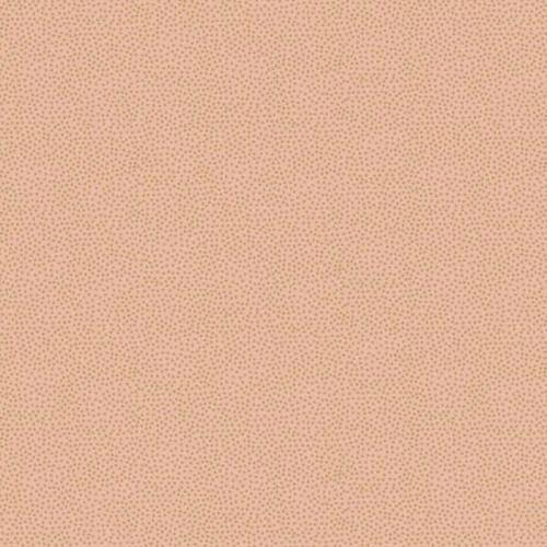 Designer Fabric Felt Sheet - Metallic Dotty - Peach
