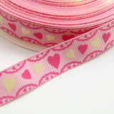 16mm wide Heart Frill Ribbon