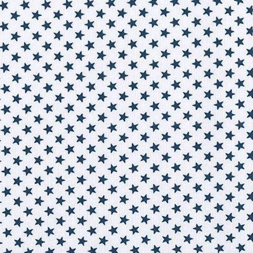 Fabric Felt Sheet - Stars - Navy